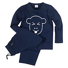 Buy Polarn O.Pyret Animal Motif Pyjama Set Online at johnlewis.com