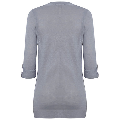 Buy White Stuff Lasco Boyfriend Cardigan, City Scape Grey Online at johnlewis.com