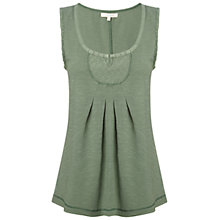 Buy White Stuff Holiday Vest Top, Deep Forest Online at johnlewis.com