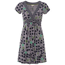 Buy White Stuff Gothenburg Printed Kaftan Dress, City Slicker Grey Online at johnlewis.com