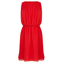 Buy Coast Istria Dress, Coral Online at johnlewis.com
