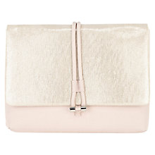 Buy Coast Ellie Envelope Bag, Oyster Online at johnlewis.com