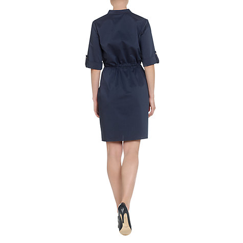 Buy Adrianna Papell Shirt Dress, Indigo Online at johnlewis.com
