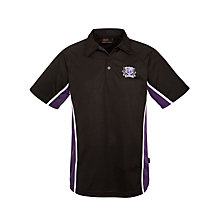 Buy Alderbrook Senior School Boys' Polo Shirt, Black/Multi Online at johnlewis.com