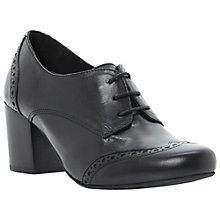 Buy Dune Abada Heeled Brogue Shoes Online at johnlewis.com