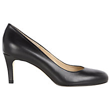Buy Hobbs London Elizabeth Leather Court Shoes Online at johnlewis.com