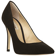 Buy Dune Alvino Court Shoes, Black Online at johnlewis.com