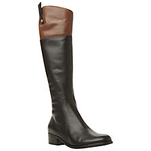 Buy Dune Trilbury Riding Boots, Black Online at johnlewis.com