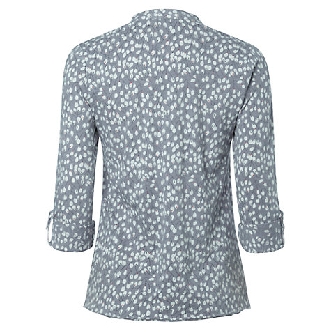 Buy White Stuff Olive Branch Shirt, City Slicker Grey Online at johnlewis.com