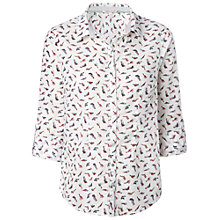 Buy White Stuff Nico Shirt, Ecru Online at johnlewis.com