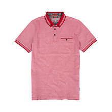 Buy Ted Baker Micthum Contrast Collar Polo Shirt Online at johnlewis.com