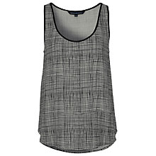 Buy French Connection Textured Check Vest Online at johnlewis.com