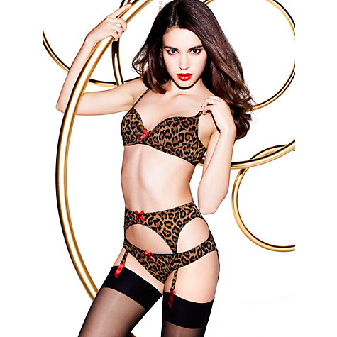 Buy L'Agent by Agent Provocateur Leonara Briefs, Animal Online at johnlewis.com