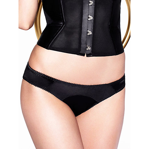 Buy L'Agent by Agent Provocateur Penelope Briefs, Black Online at johnlewis.com