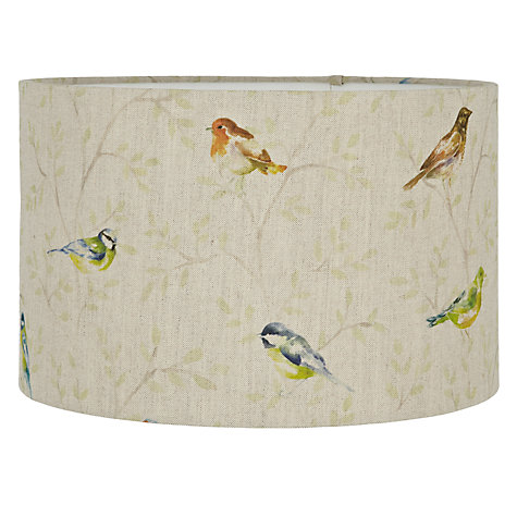 Buy Voyage Garden Bird Cylinder Shade Online at johnlewis.com