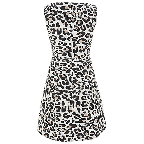 Buy Havren Ocelot Print Dress, Cream Combo Online at johnlewis.com