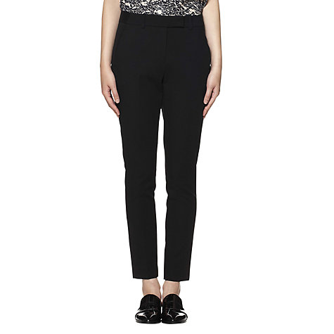 Buy Whistles Heidi Trousers, Black Online at johnlewis.com