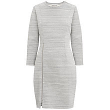 Buy Whistles Byrony Jersey Dress, Grey Online at johnlewis.com