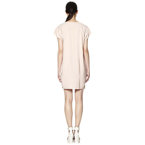 Buy Whistles Adrianne Dress, Neutral Online at johnlewis.com