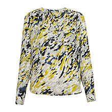 Buy Whistles Salina Claude Blouse, Multicolour Online at johnlewis.com