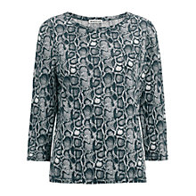 Buy Whistles Paloma Snake Print Top Online at johnlewis.com