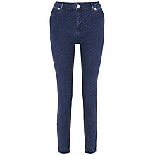 Buy Whistles Georgine Skinny Jeans, Denim Online at johnlewis.com