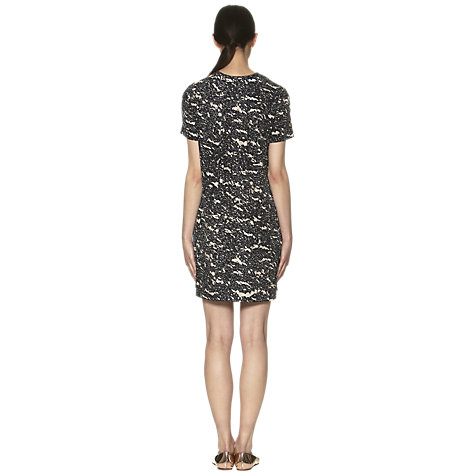 Buy Whistles Silk Tunic Print Dress, Navy Online at johnlewis.com