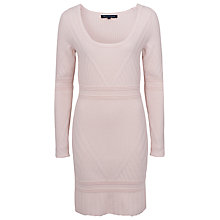 Buy French Connection Engineered Jumper Dress, Dusty Cream Online at johnlewis.com