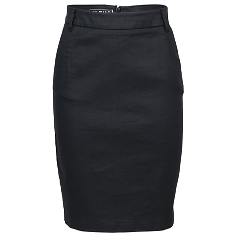 Buy French Connection Judy Jegs Pencil Skirt, Black Online at johnlewis.com