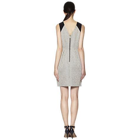 Buy Whistles Noel Occasion Dress, Neutral Online at johnlewis.com