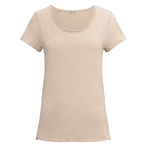 Buy Whistles Lauren Flame T-Shirt Online at johnlewis.com