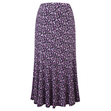 Buy Viyella Confetti Petal Print Skirt, Blackberry Online at johnlewis.com