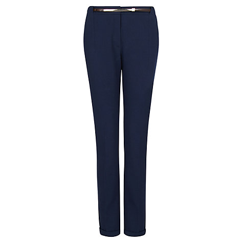Buy Mango Belted Trousers Online at johnlewis.com