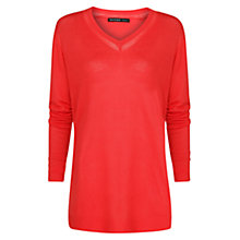 Buy Mango Long Sleeve V-Neck Jumper Online at johnlewis.com