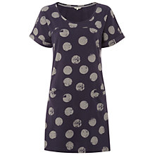 Buy White Stuff Alexa Tunic Dress, Deep Mulberry Purple Online at johnlewis.com