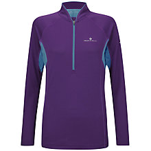 Buy Ronhill Trail Long Sleeve Half Zip Top, Purple Online at johnlewis.com