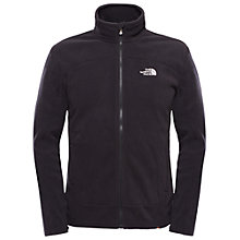 Buy The North Face 100 Glacier Full Zip Jumper, Black Online at johnlewis.com