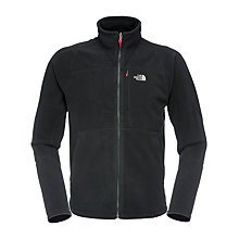 Buy The North Face 200 Shadow Full-Zip Fleece, Black Online at johnlewis.com