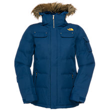 Buy The North Face Baker Down Jacket, Blue Online at johnlewis.com