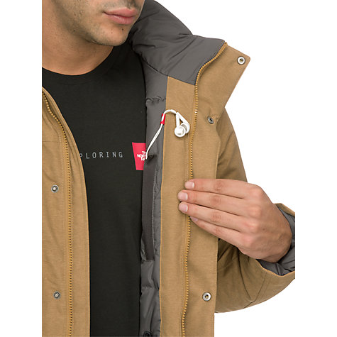 Buy The North Face Bedford Down Parka, Tan Online at johnlewis.com