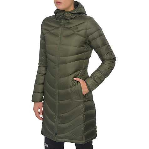 Buy The North Face Upper West Side Jacket, Green Online at johnlewis.com