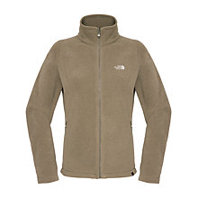Buy The North Face 100 Glacier Full Zip Jumper, Brown Online at johnlewis.com