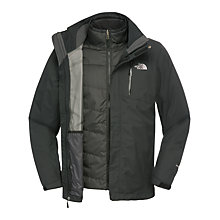 Buy The North Face Solaris Triclimate 3-in-1 Jacket, Black Online at johnlewis.com