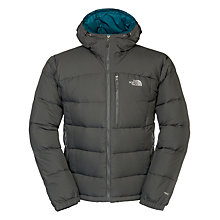 Buy The North Face Argento Hoodie Jacket, Grey/Blue Online at johnlewis.com