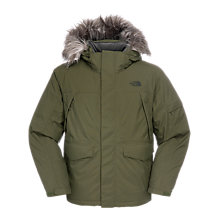 Buy The North Face Ice Parka, Green Online at johnlewis.com