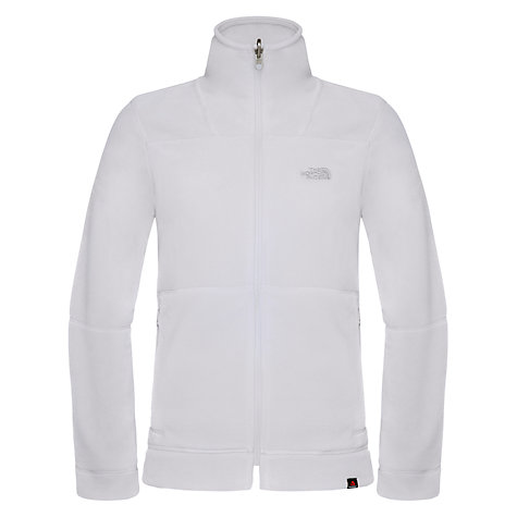 Buy The North Face 200 Shadow Full-Zip Fleece, Ivory Online at johnlewis.com