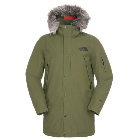 Buy The North Face Orcadas Parka, Green Online at johnlewis.com