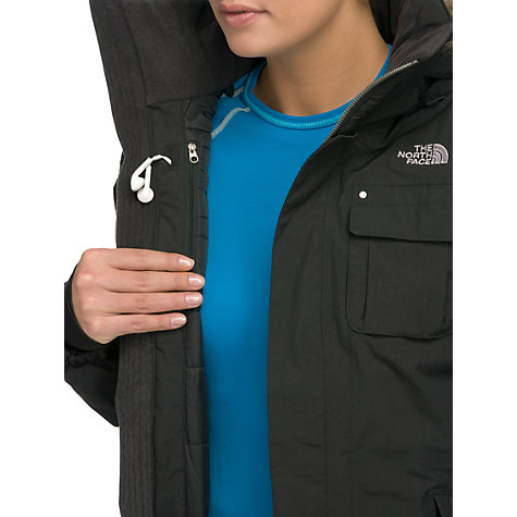 Buy The North Face Baker Jacket, Black Online at johnlewis.com