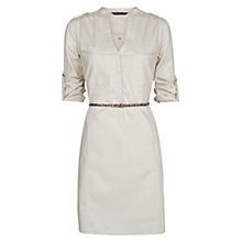 Buy Mango Shirt Cotton Dress Online at johnlewis.com