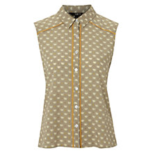 Buy NW3 by Hobbs Ella Top, Banoffee Multi Online at johnlewis.com